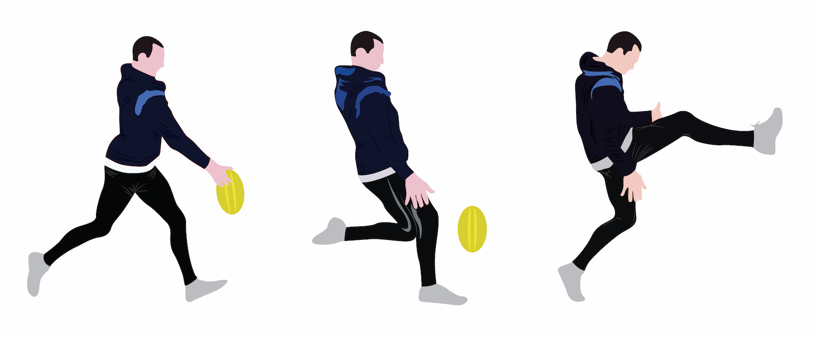 how to kick in football